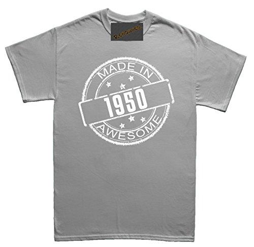 Renowned - Camisas - Tripulación - Manga Corta - para mujer gris