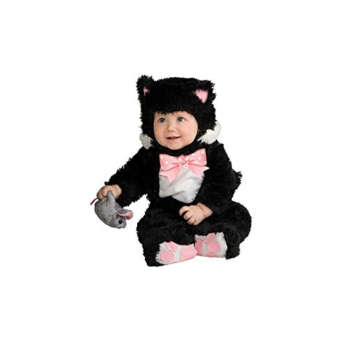 Costumes Baby Black Inky Kitty (Inky Black Kitty Costume - Baby)