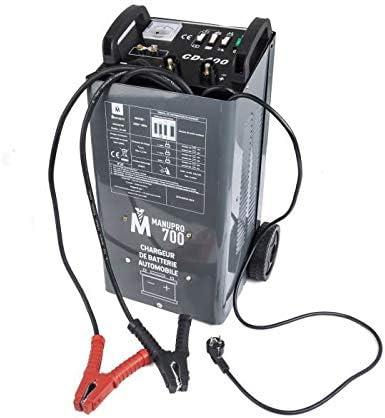 Booster de d/émarrage MANUPRO 700 Chargeur de batterie 40A 1400 W 12//24V