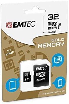 Speicherkarte Emtec 32 Gb Microsdhc Class 10 Für Computer Zubehör