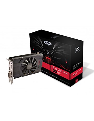 XFX AMD Radeon RX 460 4GB GDDR5 DVI/HDMI/DisplayPort PCI-Express Video Card (RX-460P4SFG5)