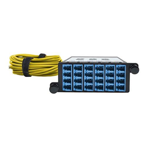 TRIPP LITE 8.3/125 40GB to 10GB Fiber Breakout Cassette x3 8-Fiber Singlemode MTP/MPO to x12 LC Duplex (N482-3M8L12S-B) by Tripp Lite (Image #3)