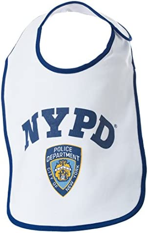 / NYPD Baby Infant Siebdruck Body Marineblau New York Cops/