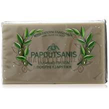 """Green Pure Olive Oil Soap """"Papoutsanis"""" Pack of 6"""