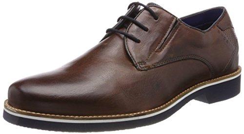 Bugatti Herren 312416013500 Derbys Braun (Brown)