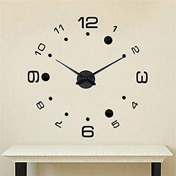 Babimax 3d Diy Horloge Pendule Murale Style Moderne