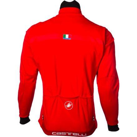 Castelli Espresso debido chaqueta cortavientos-: Amazon.es: Deportes y aire libre
