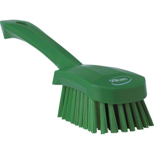 Vikan 41902 Heavy Duty Sweep Hand Brush, Polypropylene, Polyester Bristle, 10