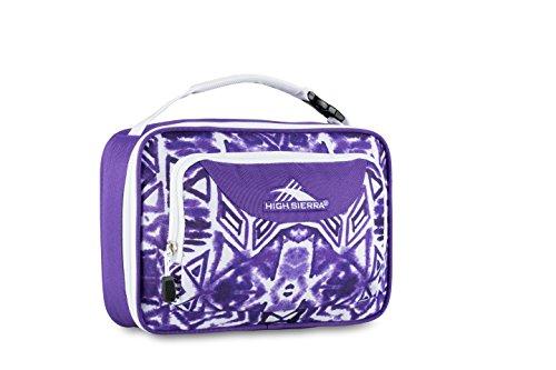 high-sierra-single-compartment-lunch-bag-shibori-deep-purple-white