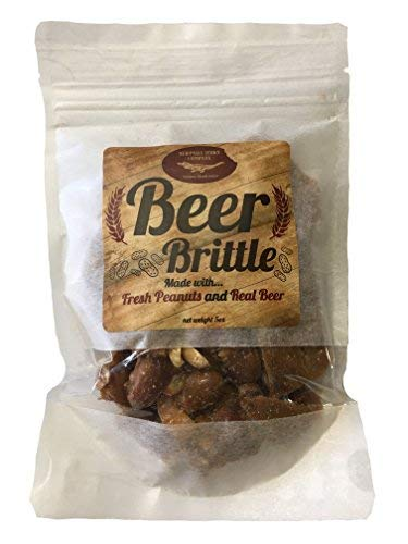 Alcohol Free Award Winning Gourmet IPA Beer Peanut Brittle.