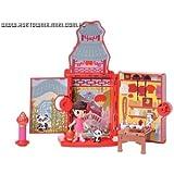 Bandai 89110 - Casa de muñecas con accesorios y 1 figura