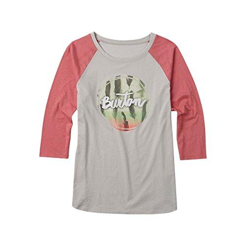 Burton 3/4Mangas Camiseta Abby Raglan Dove Heather