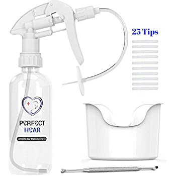 Amazon com: Elephant Ear Washer Bottle System by Doctor Easy
