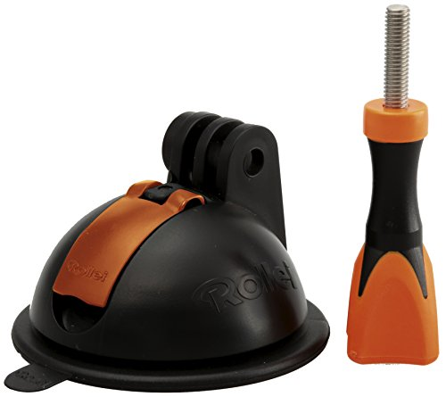 Rollei Power Saugnapfhalterung - für Rollei Actioncams und GoPro Kameras - extreme Saugkraft - Helmbefestigung
