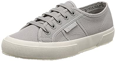Superga Fashion Sneakers for Men Mixed Material, Grey and White - 40 EU,S000010
