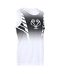 Under Armour Boys' Select Tank, Black (001), Youth X-Small