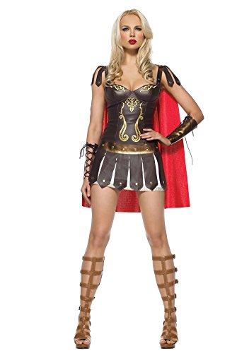 Ace Halloween Adult Women's Sexy Roman Warrior Superwoman Costumes (Superwoman Costumes For Girls)