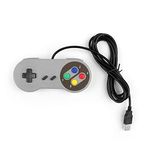 Areyourshop 1Pcs Super Nintendo SNES USB Controller Game PAD for PC Raspberry Pi 3 RetroPie from Areyourshop