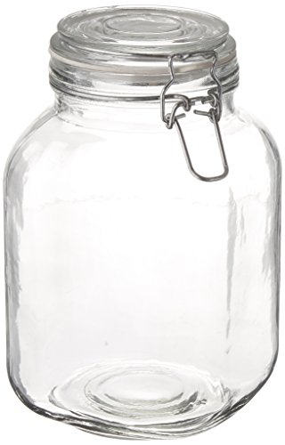 Anchor Hocking 98785 67 Oz Glass Heremes Clamp - Jar Heremes