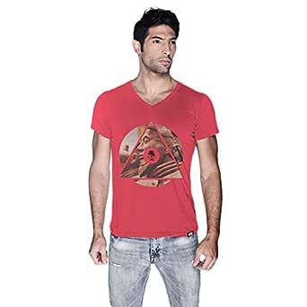 Creo China T-Shirt For Men - L, Pink