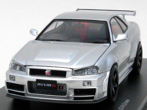 1/43 NISMO スカイラインR34 GT-R Z-tune シルバー K03384S