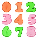 Silicone Baking Number Cake Mold - Baking Molds for Birthday Anniversary Set of 9