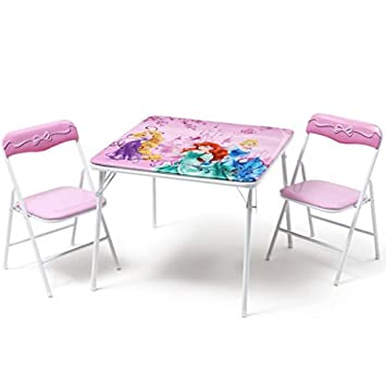 Delta Childrens Products Disney Princess Siege Enfant Groupe Table Pliante Chaise Meubles Pour Enfants
