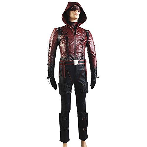 Green Arrow Season 3 Red Arrow Roy Harper Arsenal Red Cosplay Costume