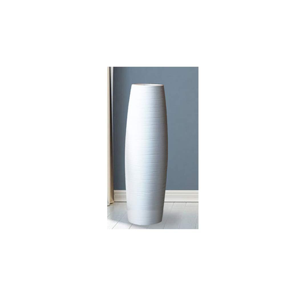 ヨーロピアンスタイルのフロアスタンドセラミック花瓶装飾 SHWSM (サイズ さいず : High 60CM) B07S3ZLYPJ  High 60CM