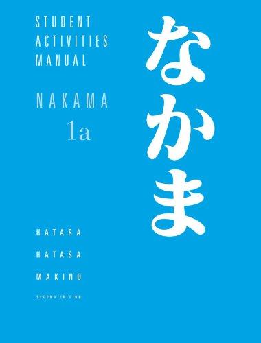 Nakama 1 A Student Activities Man.