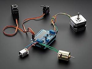 Adafruit Motor/Stepper/Servo Shield for Arduino v2 Kit [ADA1438]