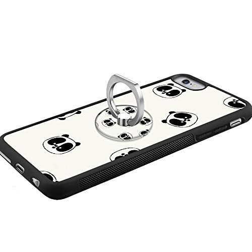 Amazon Com Panda Iphone 6s Plus 6 Plus Case With Ring Holder Stand