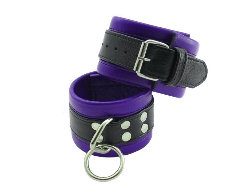 Wrist Cuffs Blk/purple