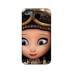 Iphone 6plus HQz6215YQbG Customized Fashion Mr Peabody Sherman Pattern Scratch Protection Cell-phone Hard Covers -TimeaJoyce