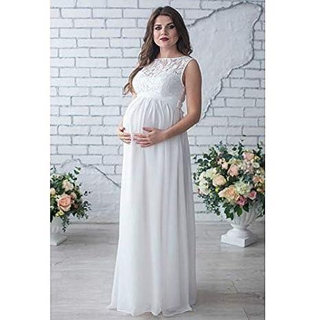 ea2d1eb3d0 Maternity Lace Dress 2018 Pregnancy Clothes Pregnant Women Lady ...