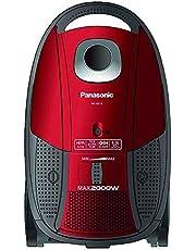 Panasonic Canister Vacuum Cleaner Red - MC-CG713