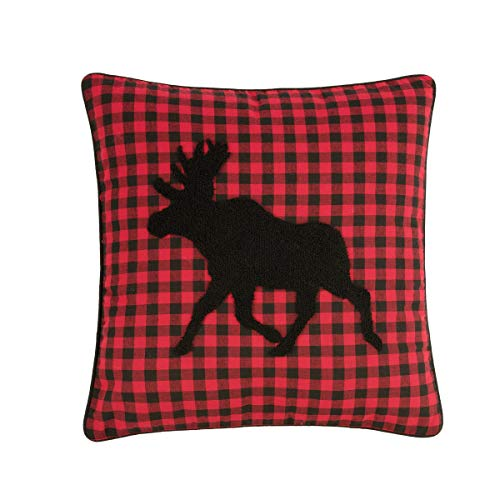 C&F Home Woodford Moose Tufted Pillow 18x18 Pillow ()