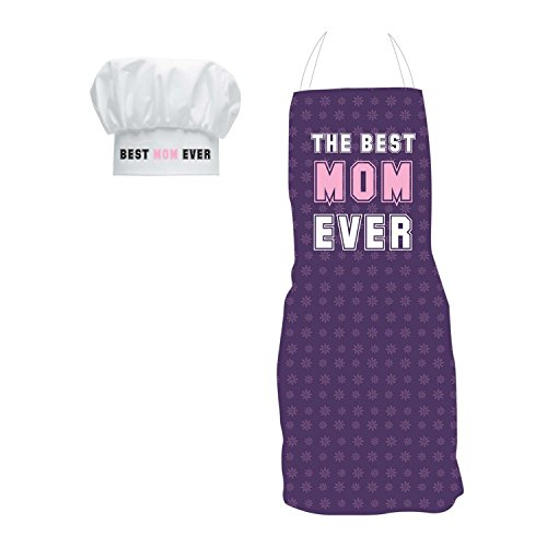 Giftsmate Polyester Best Mom Ever Apron Aprons at amazon