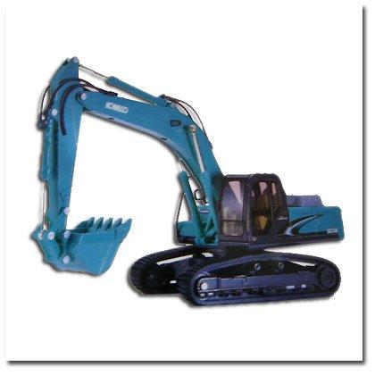 1/43 コベルコ アセラ ジオスペック SK330(エメラルドグリーン) 「ダイヤペット建設機械コレクションシリーズ」 DK-6024