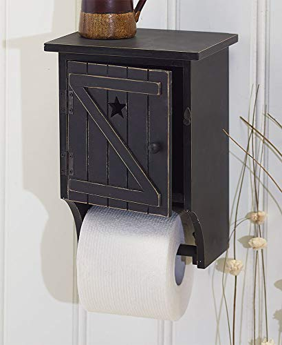 The Lakeside Collection Bathroom Tissue Holder - Black