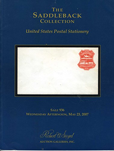 The Saddleback Collection United States Postal Stationery
