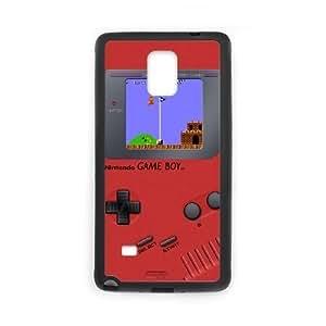 Samsung Galaxy Note 4 Black phone case Game boy Super Mario Bros JHQ4429971