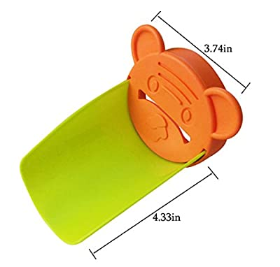 Aipleril Faucet Extender - Pack of 2 Silicone Sink Handle Extender Hand Washing For Toddlers, Kids, Babies