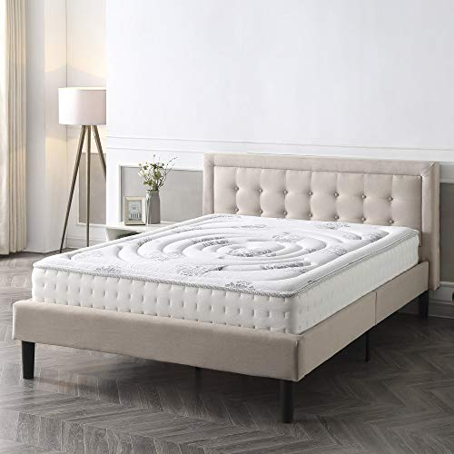 Classic Brands Decker Hybrid Memory Foam and Innerspring 10.5-Inch Mattress, King