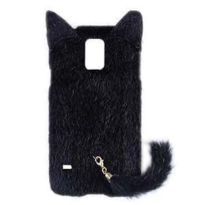 GX Teléfono Móvil Samsung - Cobertor Posterior - Diseño Especial - para Samsung S5 i9600 ( Negro/Blanco/Rosado/Rosa , Plástico ) , Black
