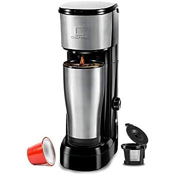 Amazon.com: CHULUX Coffee Maker Machine, Single Cup Pod