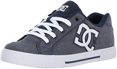 DC Women's Chelsea TX SE Skate Shoe, Chambray, 10 B US