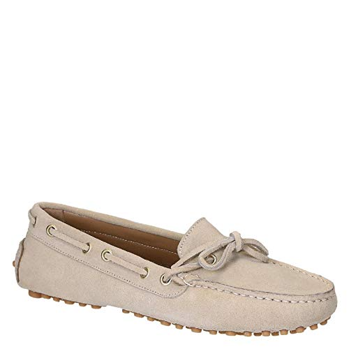Leonardo 4125beige Mocassini Beige Shoes Donna Pelle frZpfqg