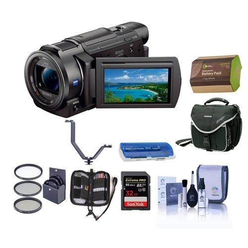 Sony FDR-AX33 4K Ultra HD Handycam Camcorder - Bundle for sale  Delivered anywhere in USA