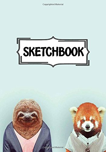 """Download Sketchbook : Cute animals: 120 Pages of 7"""" x 10"""" Blank Paper for Drawing, Doodling or Sketching (Sketchbooks) PDF"""